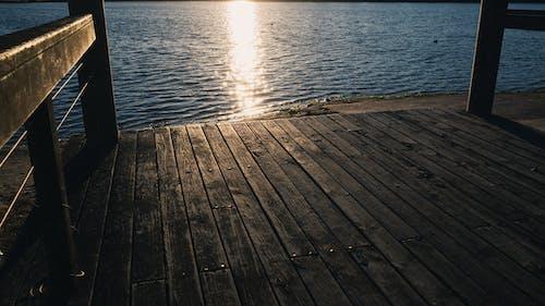 강, 나무 판자, 낮, 목조 부두의 무료 스톡 사진