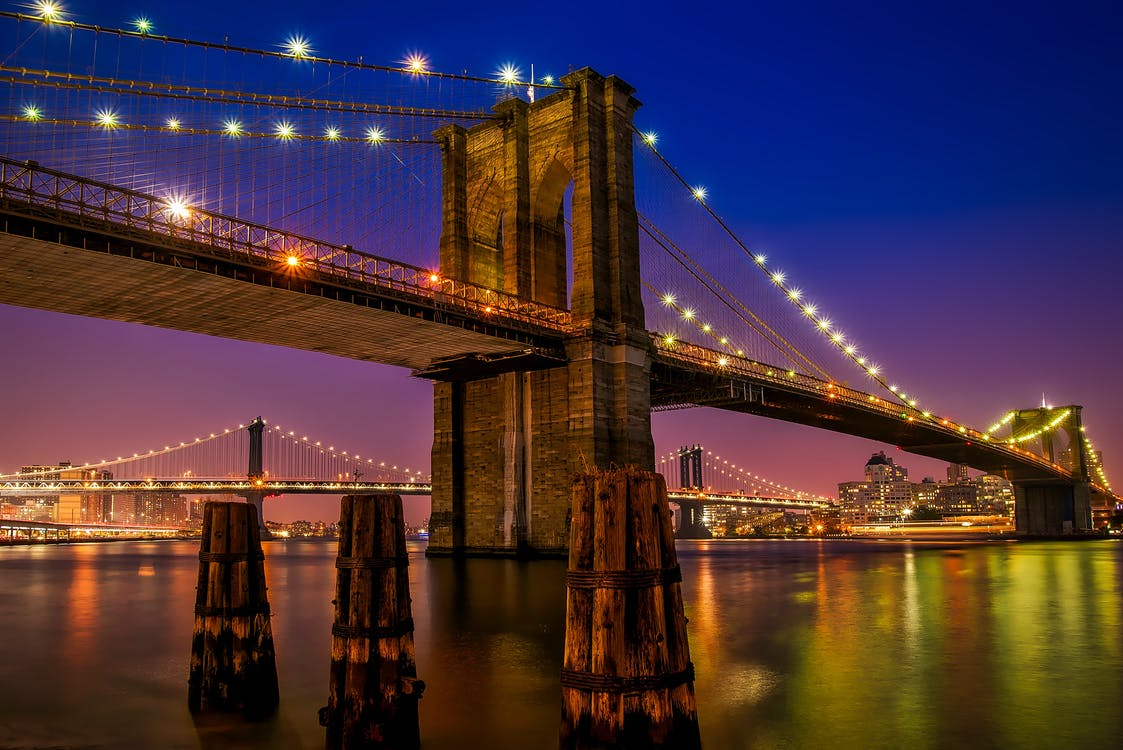 城市, 布魯克林大橋, 建築