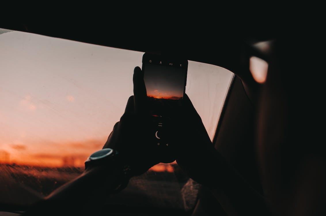 armbåndsur, bagbelyst, bil