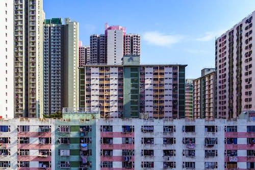 Fotos de stock gratuitas de alto, apartamento, arquitectura, bloque