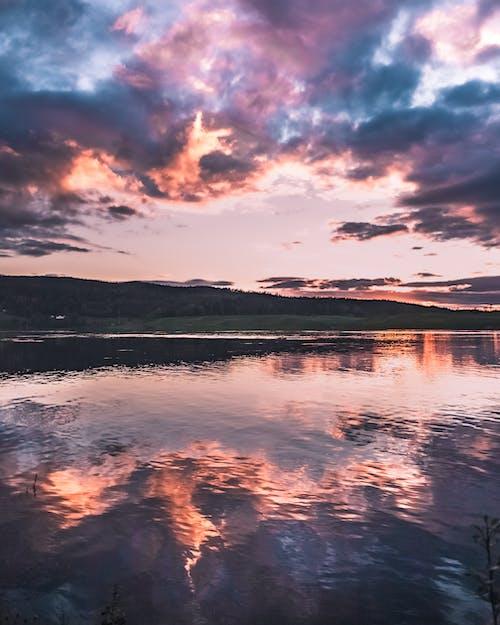 Imagine de stoc gratuită din ape calme, apus, cer, cer de seară