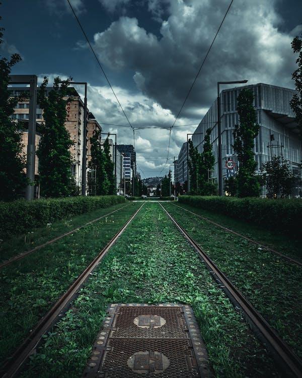 arhitectură, călătorie, cale ferată