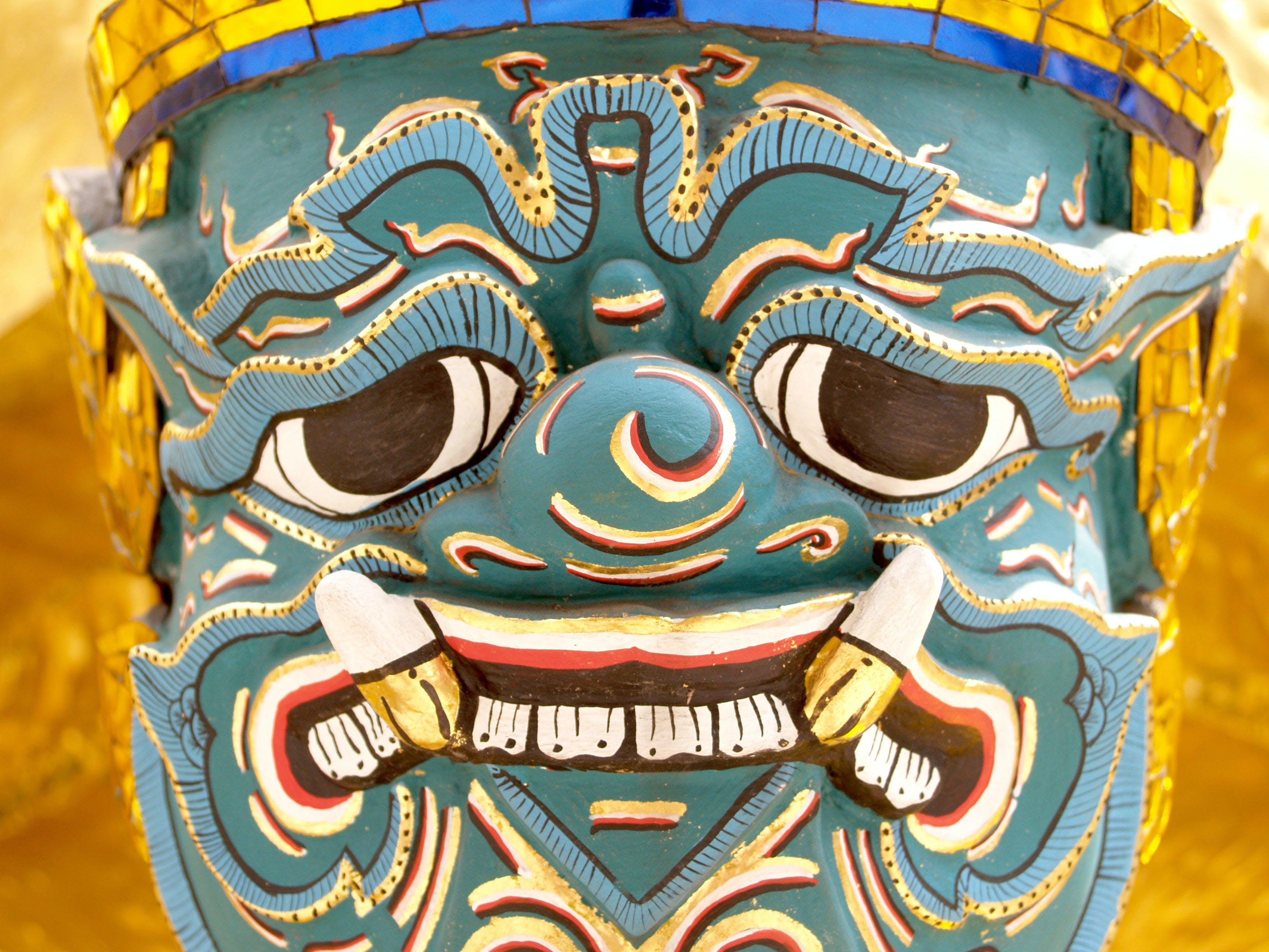 Ảnh lưu trữ miễn phí về Bangkok, bức họa, cầu nguyện, chùa