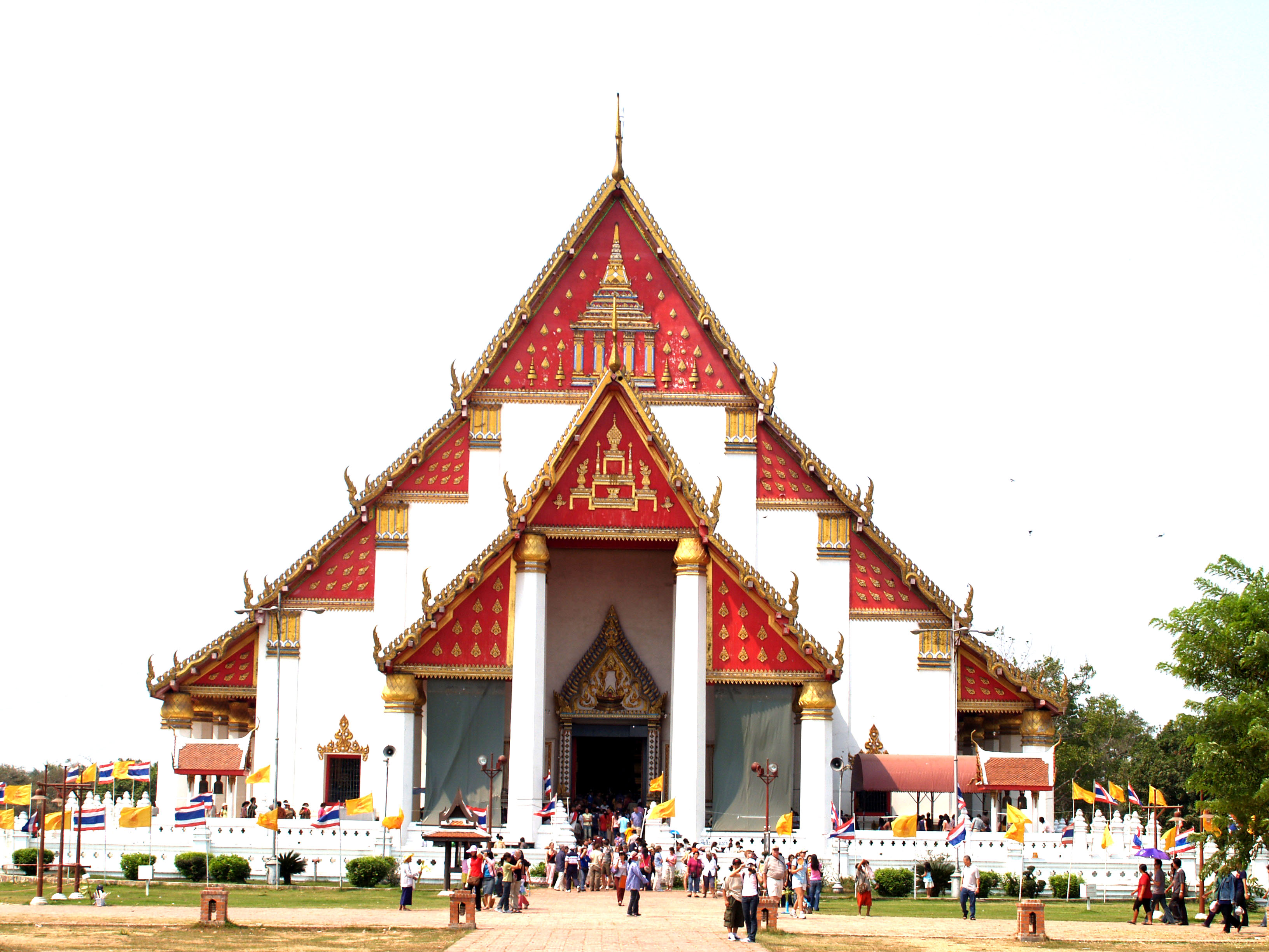 People Near Temple