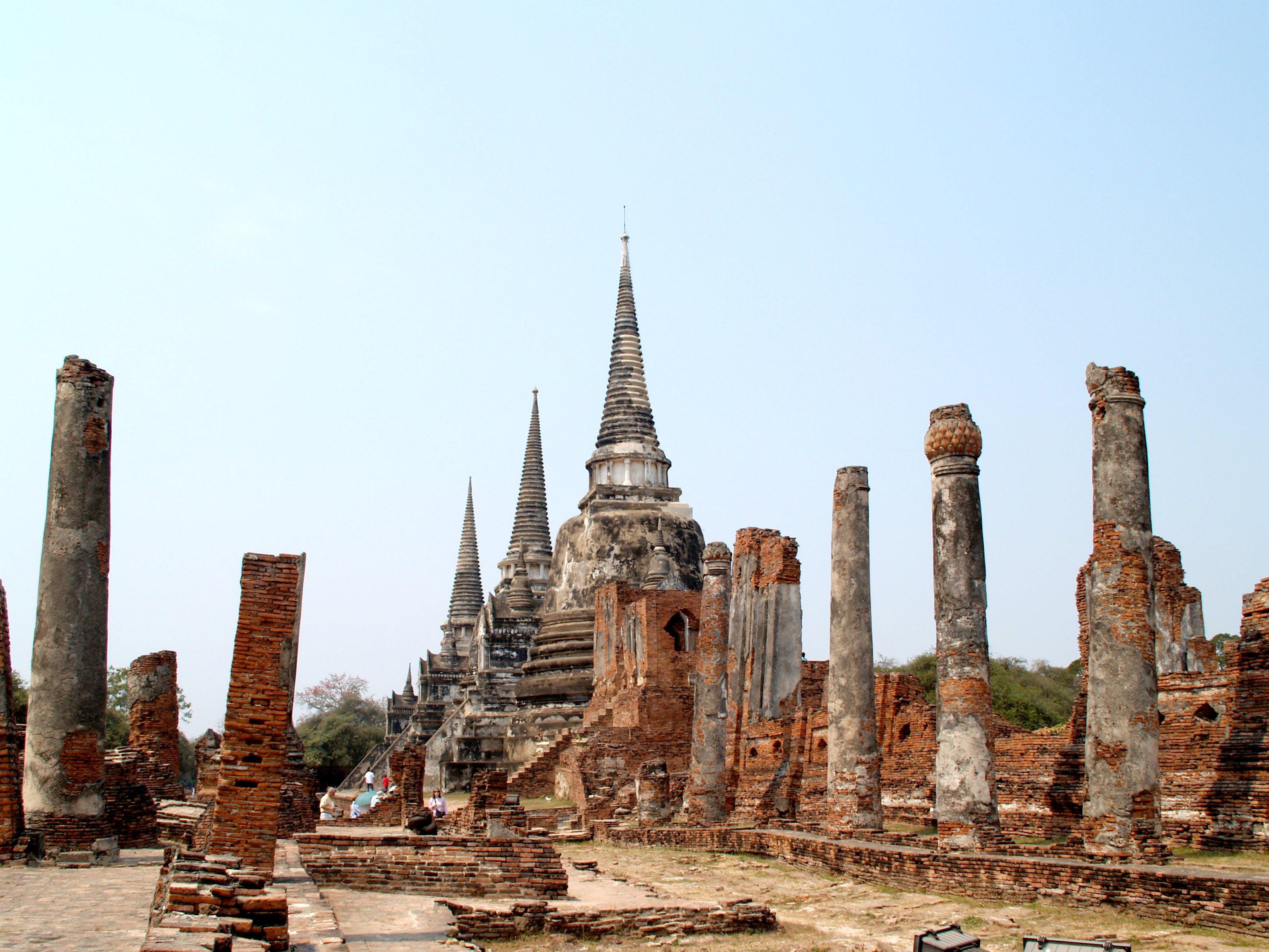 archeologie, architektura, Asie