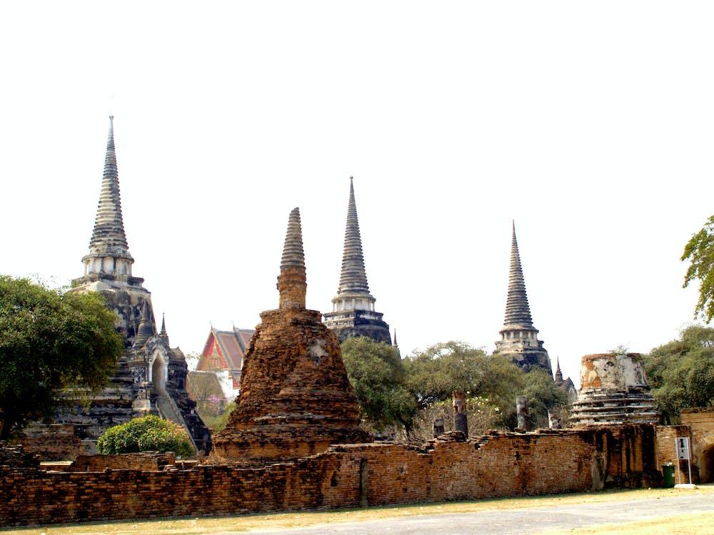 азиатский, Азия, архитектура