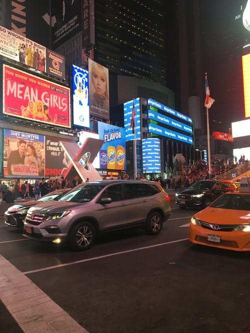Free stock photo of city, night life, times square