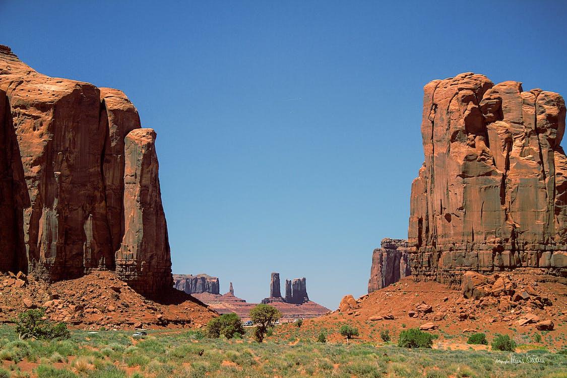 alam, batu pasir, berbatu