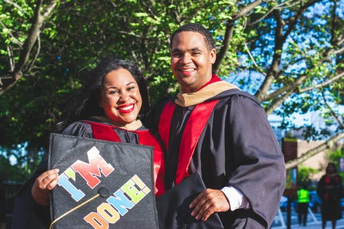 Kostenloses Stock Foto zu absolventen, ausbildung, bildung, doktorhut