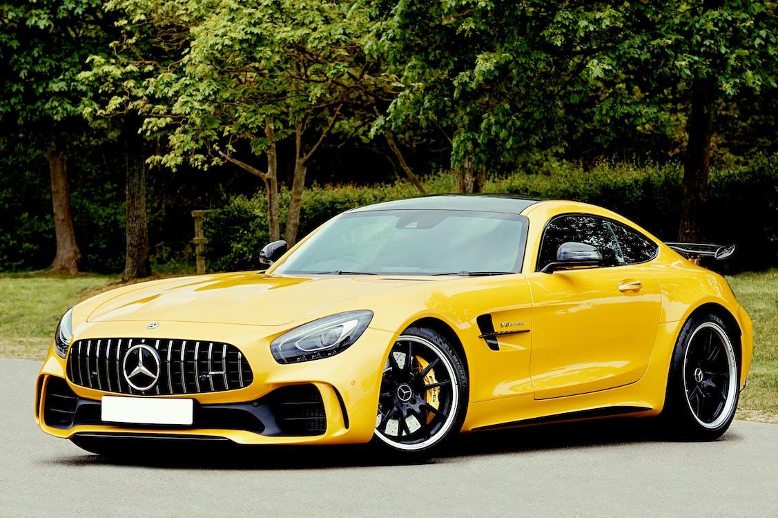 amg, Mercedes-Benz, กระโปรงหน้ารถ