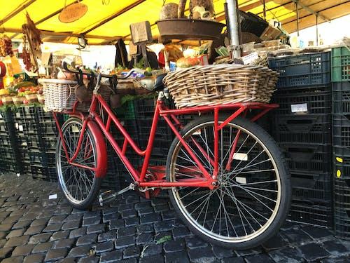 Free stock photo of bicycle, marketplace, street market