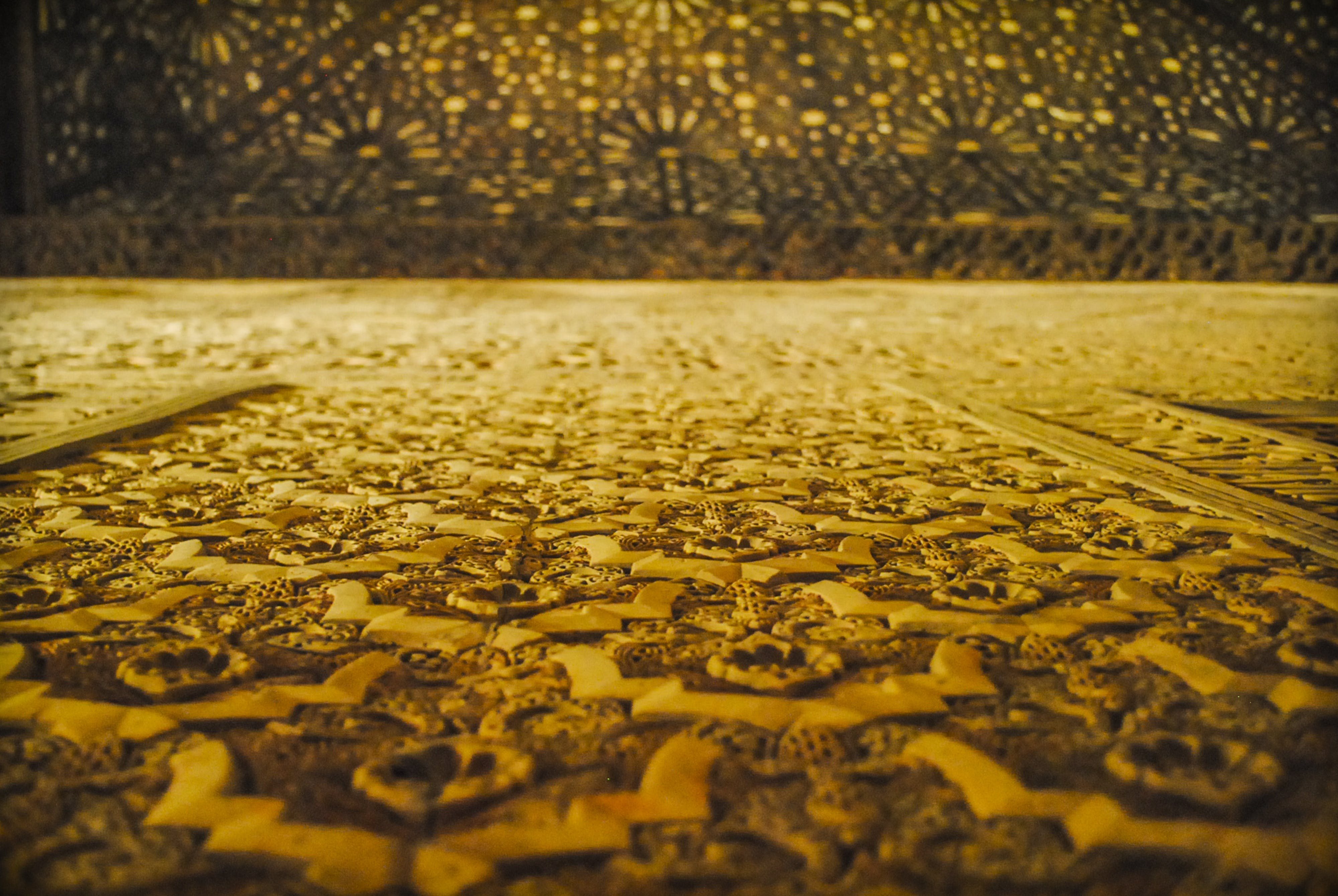 abstract, architecture, gold