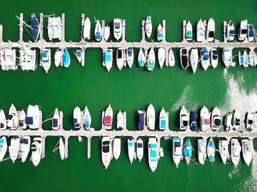 Gratis stockfoto met Azië, boten, dji mavic pro, drone fotografie