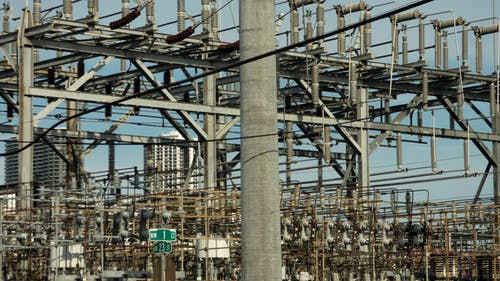Free stock photo of abstract, miami, power grid