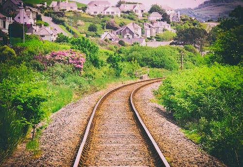 Free stock photo of rails, tracks