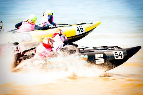 Free stock photo of race, speed boat