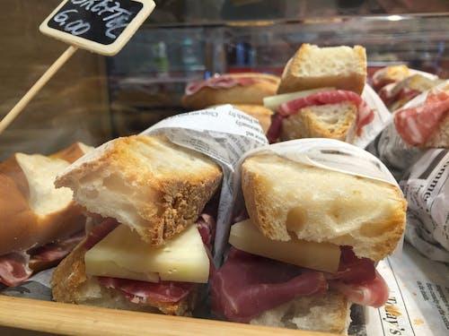 Free stock photo of bakery, bread, cheese