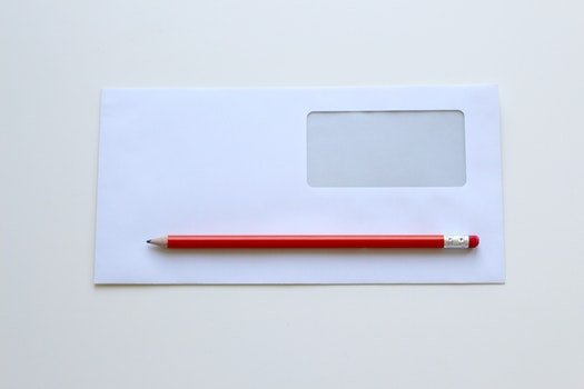 Free stock photo of pencil, paper, empty, blank