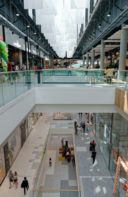Ingyenes stockfotó bevásárlás, bevásárlóközpont, design, emberek témában