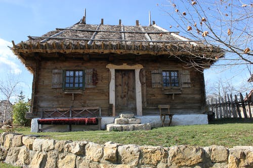 Free stock photo of ethno, serbia, wood house
