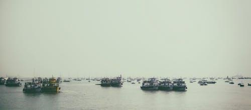 Fotobanka sbezplatnými fotkami na tému člny, India, mumbai