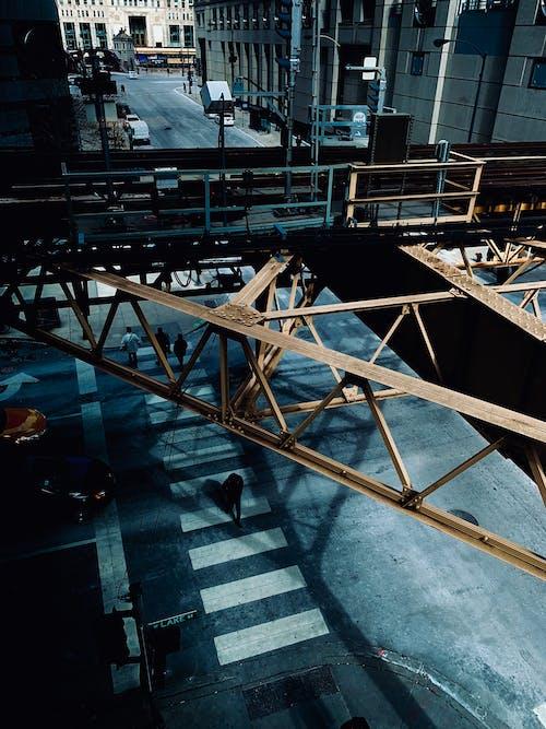 シカゴ, シティ, 上から, 交差点の無料の写真素材
