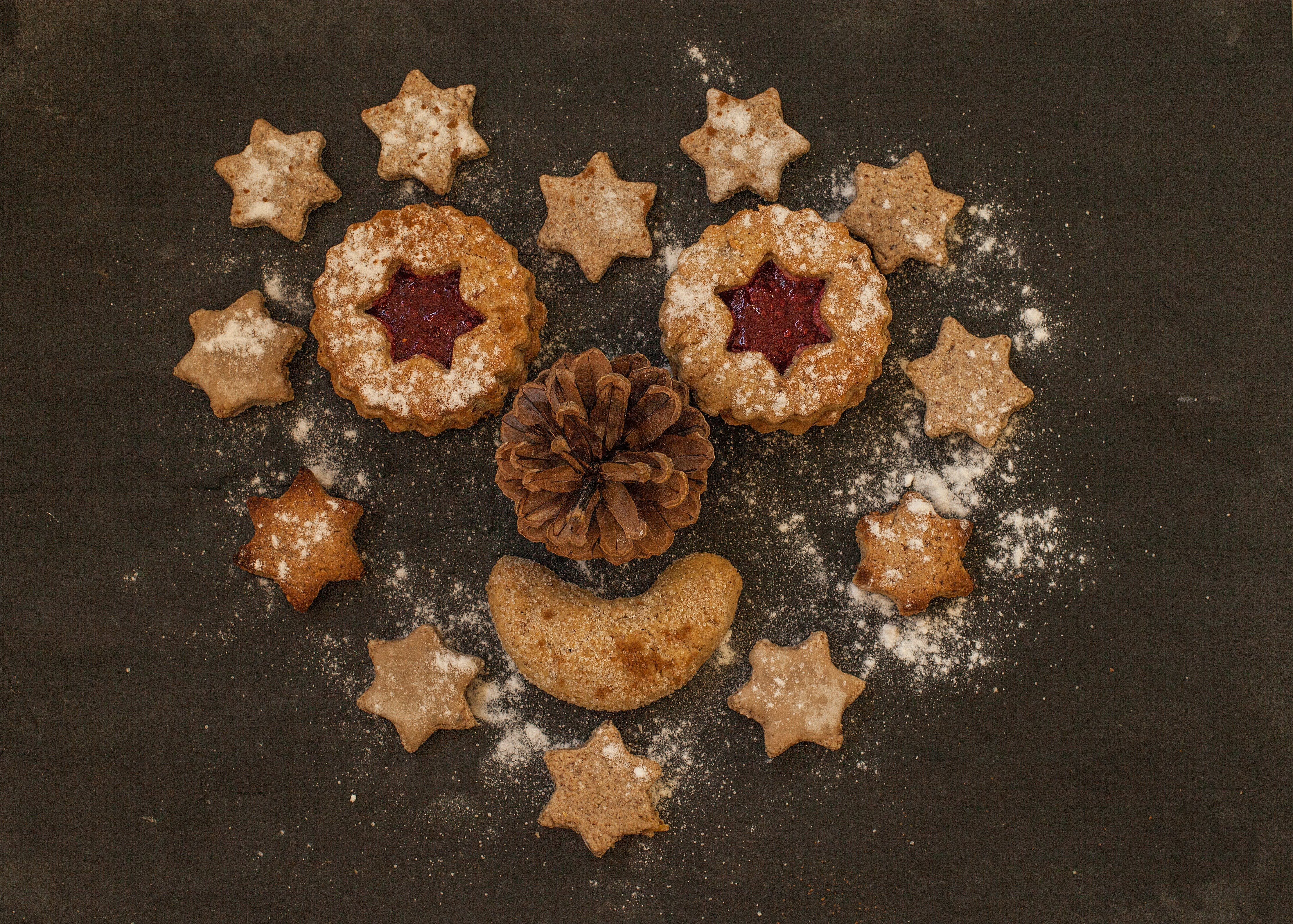 Free stock photo of food, sugar, cookies, christmas