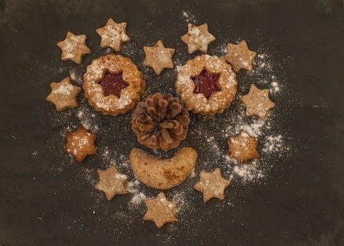 Kostenloses Stock Foto zu essen, kieferkegel, star, weihnachten