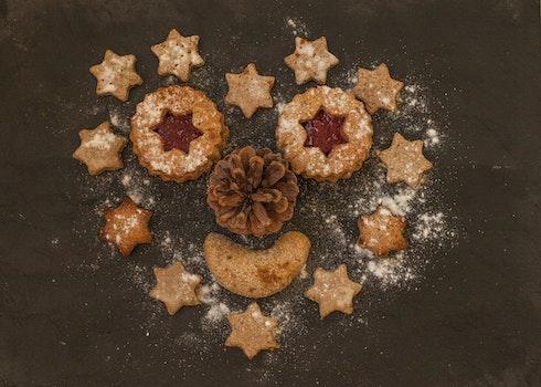 Free stock photo of food, sugar, cookies, christmas