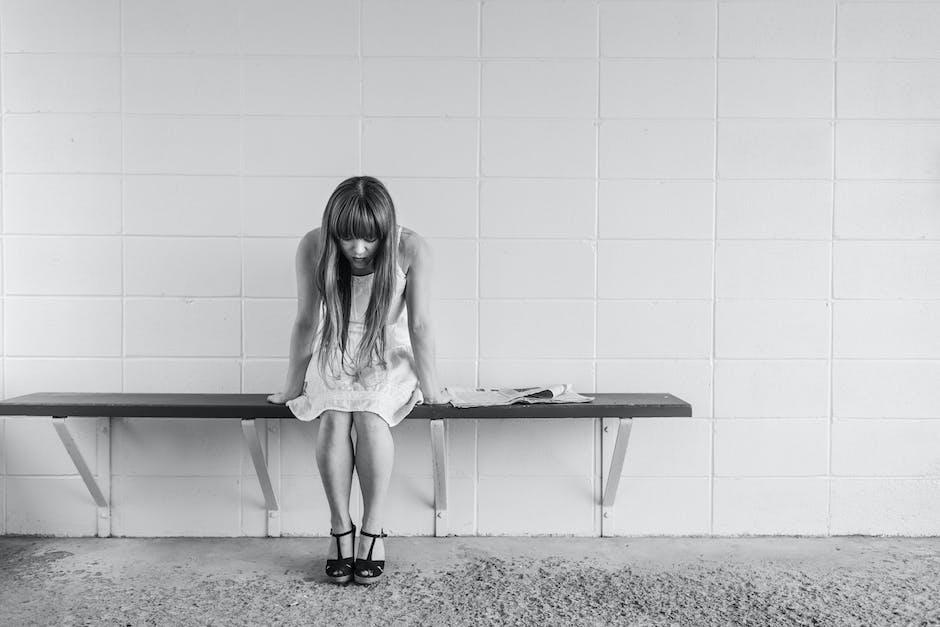 black-and-white, depressed, depression