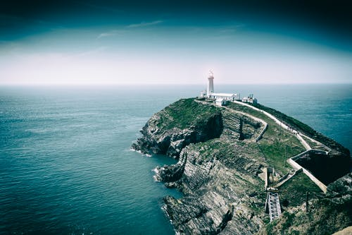 Free stock photo of coast, lighthouse, southstack