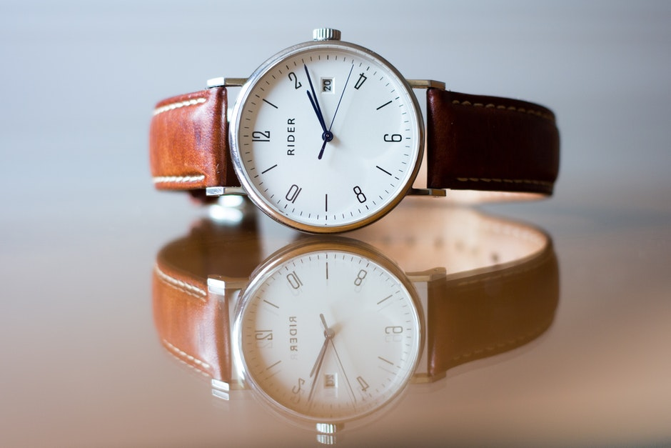 Analog watch, blur, classic