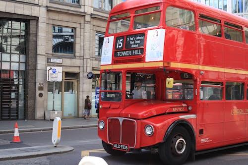 Fotobanka sbezplatnými fotkami na tému klasické autá, london bus