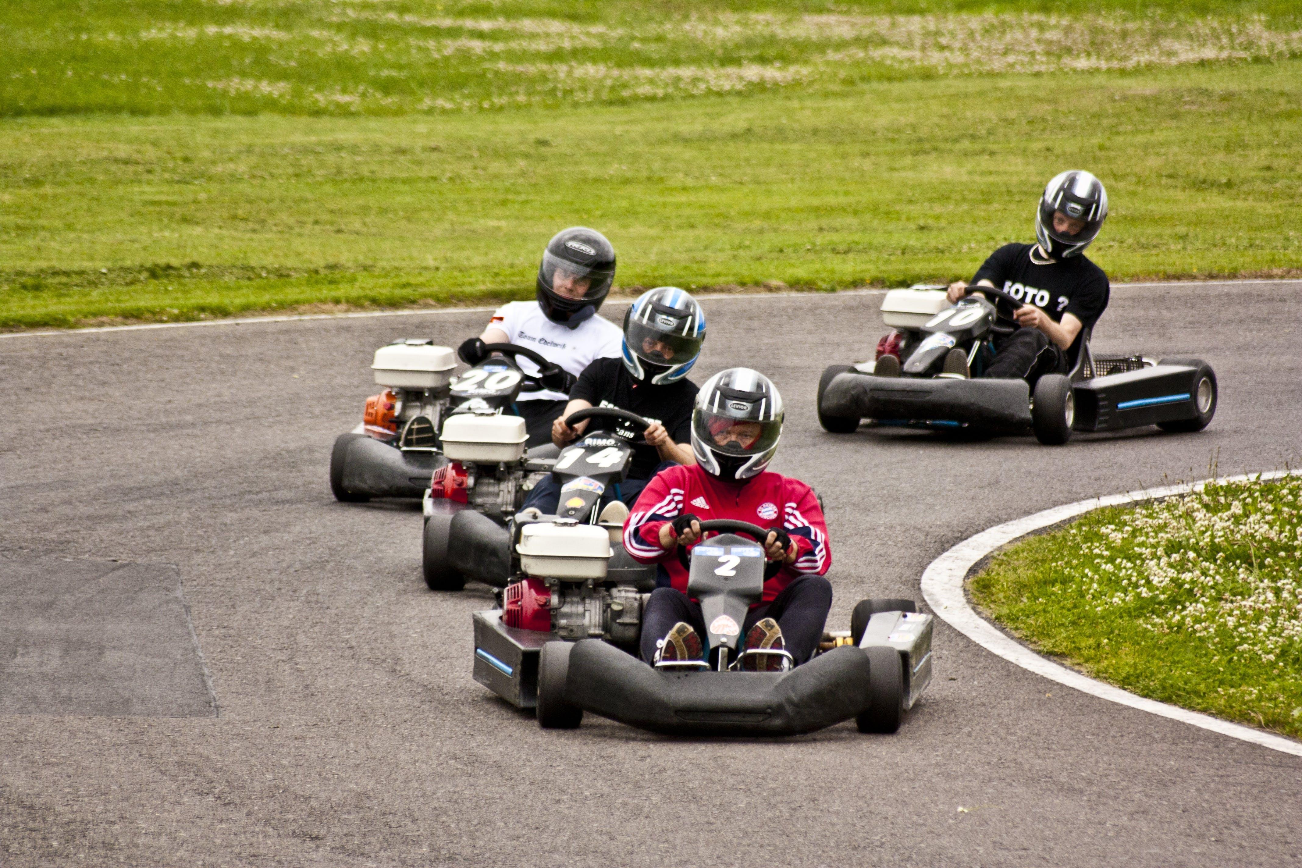 Free stock photo of motorsport, race, race track, karting