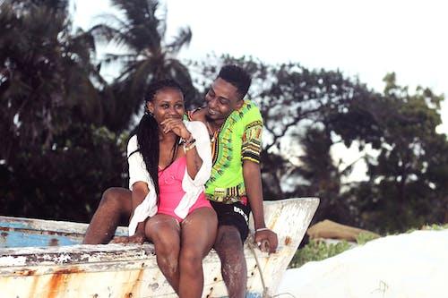 Kostnadsfri bild av älskande, båt, kenya, kvinna