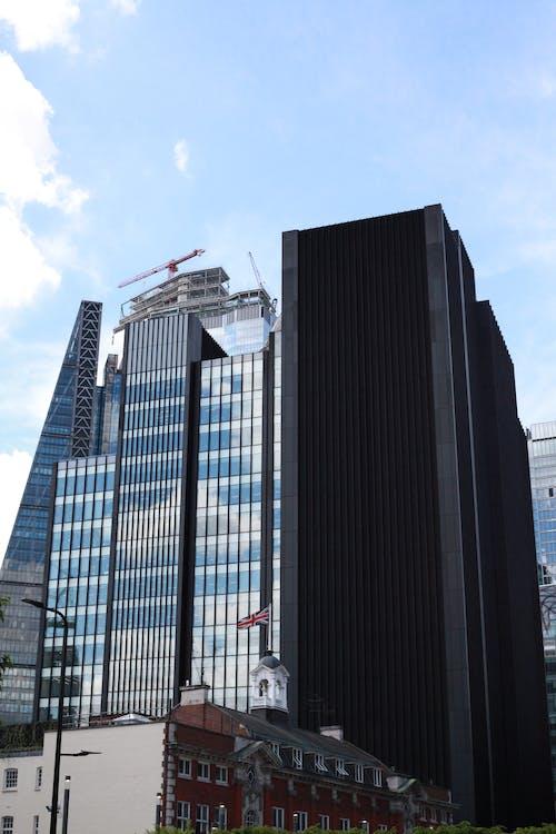 Fotobanka sbezplatnými fotkami na tému exteriér budovy, mrakodrapy