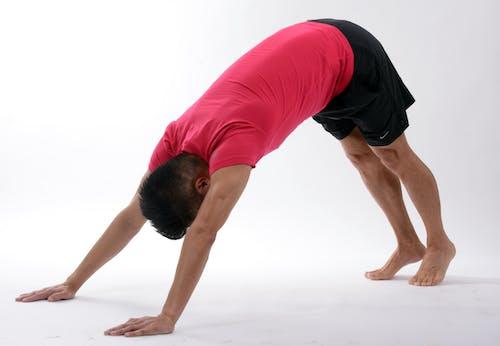 Imagine de stoc gratuită din corp, echilibru, fitness, om