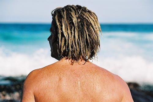 人, 夏天, 夏季, 岸邊 的 免費圖庫相片