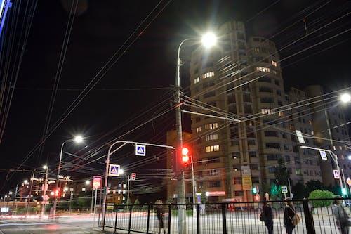 Бесплатное стоковое фото с высокий, городская фотография, дерево, дорога