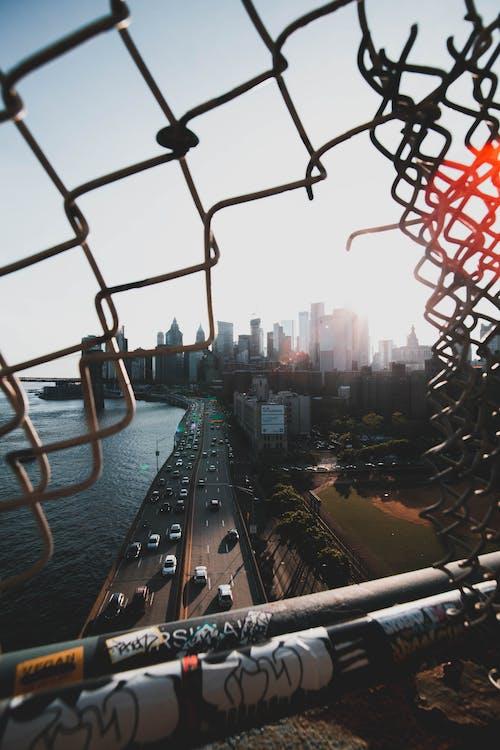 人為破壞, 围栏, 城市, 塗鴉 的 免费素材照片