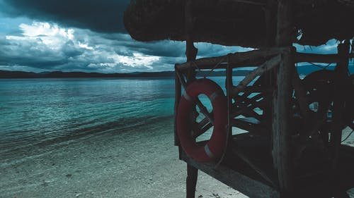 假期, 夏天, 救生員, 救生員塔 的 免費圖庫相片