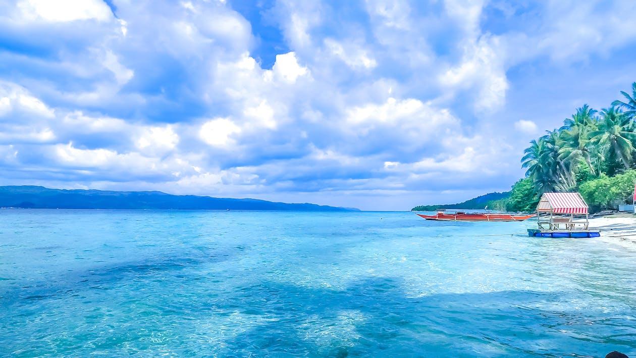 oceaan, resort, toevlucht