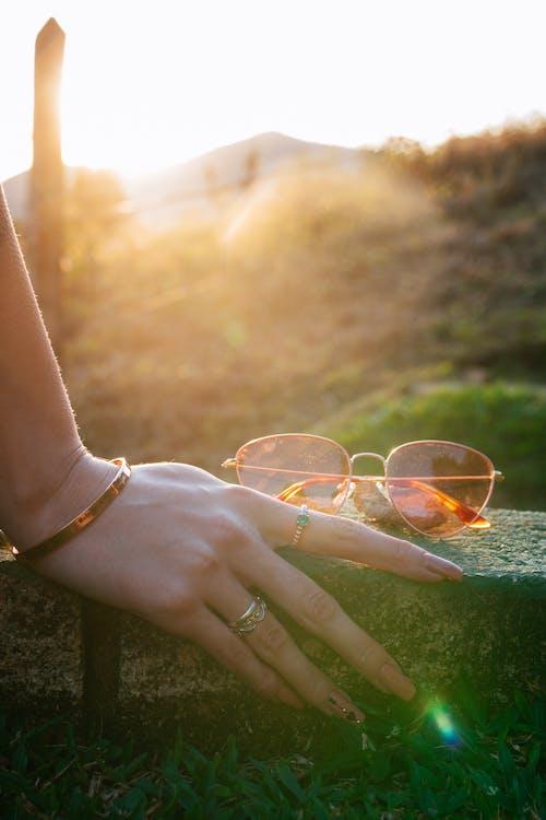Sunglasses Near Hand