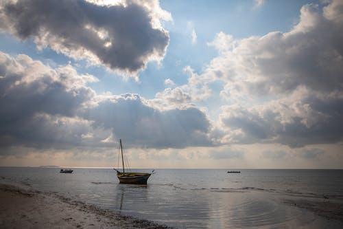 Free stock photo of blue sky, island, ocean