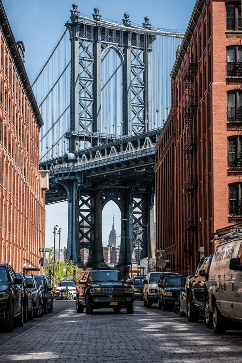 Kostenloses Stock Foto zu architektur, autos, brücke, fahrzeuge