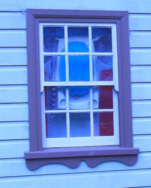 Základová fotografie zdarma na téma dům, kráva, meteorologická deska, okno