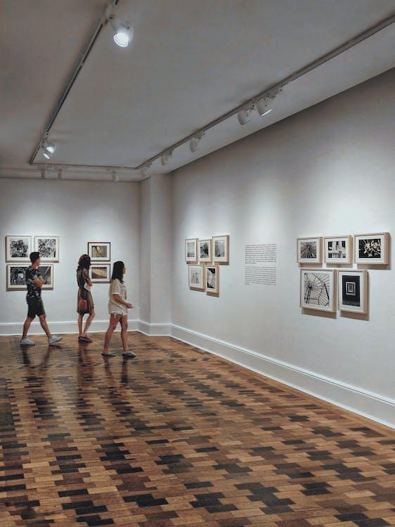 Будівля, виставка, внутрішній