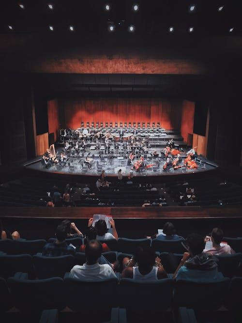 Darmowe zdjęcie z galerii z ciemny, etap, grupa, koncert