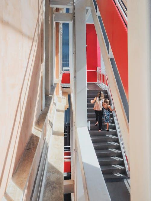 Foto stok gratis Arsitektur modern, bagian dalam, baja, bangunan