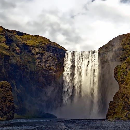 Foto d'estoc gratuïta de aigua, cascades, corrent, natura